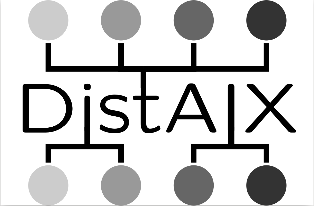 DistAIX logo